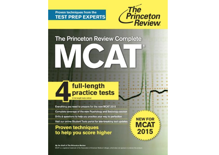 Princeton Review Complete MCAT 2016