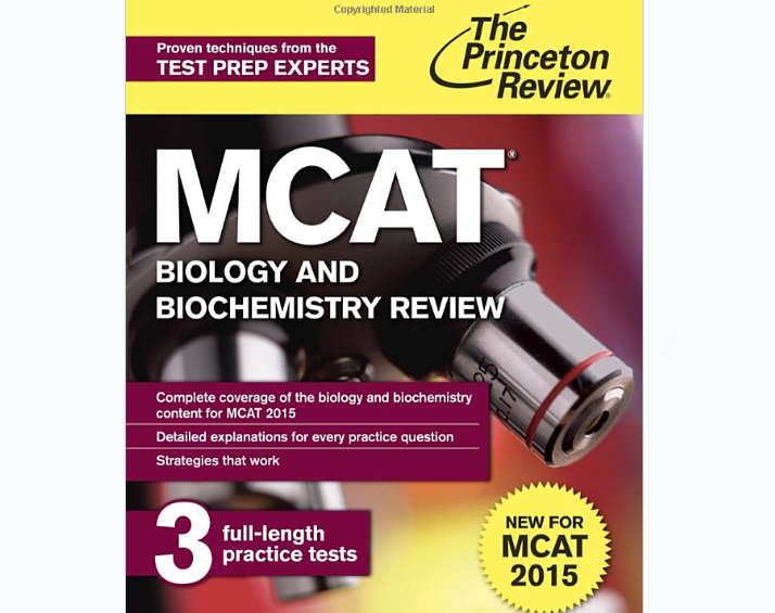 Princeton Review MCAT Biology and Biochemistry Review – 2016 MCAT