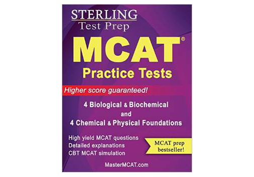 Sterling MCAT 2015 Practice Tests - Biological & Biochemical + Chemical & Physical Foundations