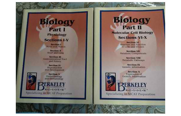 The Berkeley Review MCAT Biology Book Part 1 & 2