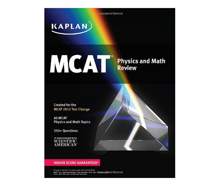 Kaplan MCAT Physics and Math Review: Created for MCAT 2016