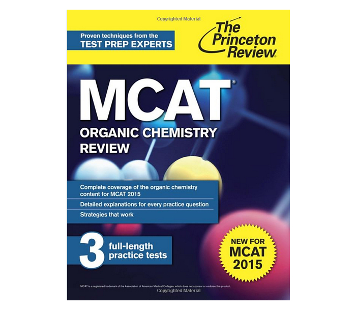 Princeton Review MCAT Organic Chemistry Review: New for MCAT 2015