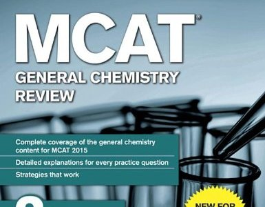 Princeton Review General Chemistry MCAT Book
