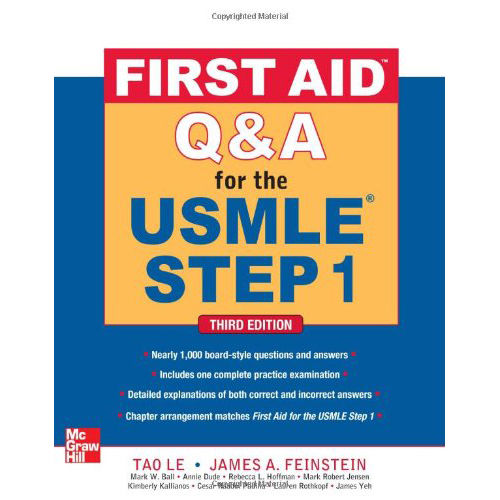 First Aid Q&A for the USMLE Step 1 (First Aid USMLE)