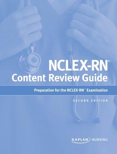 Kaplan NCLEX Content Review Guide