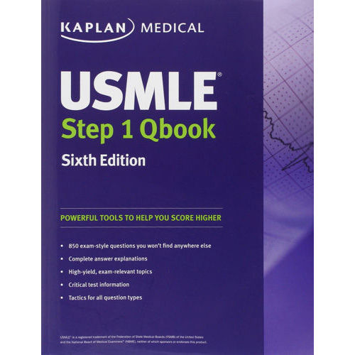 Kaplan USMLE Step 1 QBook