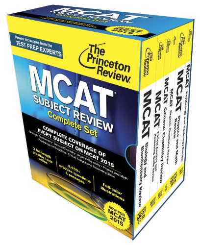 Best MCAT Prep Books For The 2016 MCAT